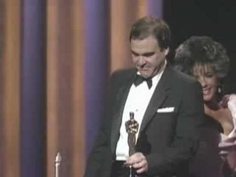 Oliver Stone Wins Best Director: 1987 Oscars