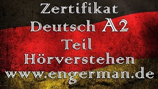Zertifikat Deutsch A2 | Start Deutsch A2 | Modelltest 1