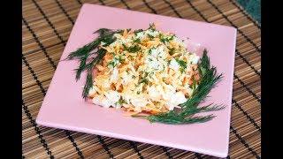 Салат без майонеза рецепт