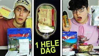 1 HELE DAG LEGER VOEDSEL ETEN!