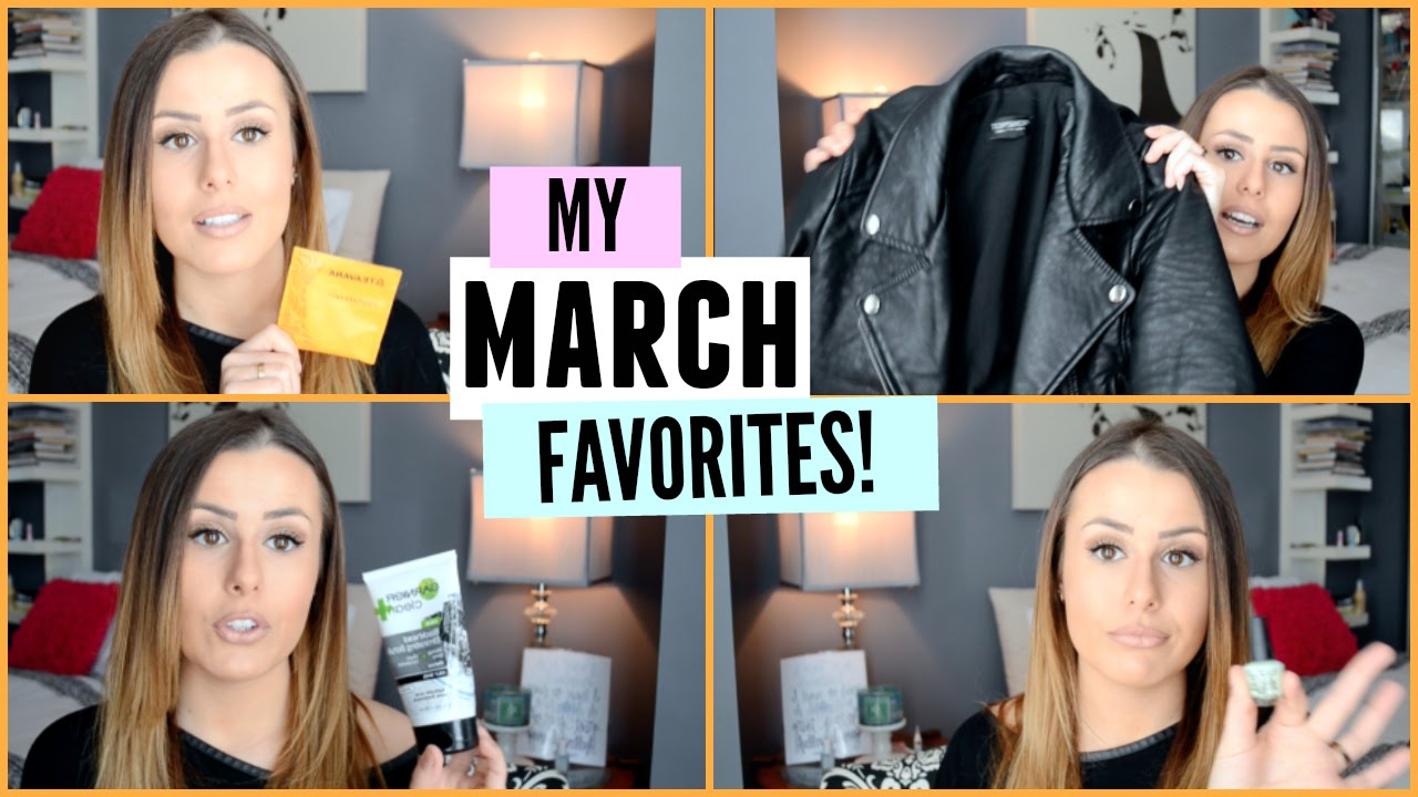MY MARCH 2015 FAVORITES!