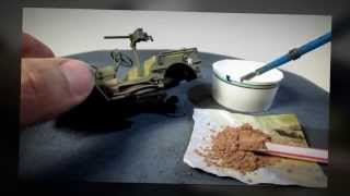 Building Bronco Models US GPW 1/4 Ton 4x4 Utility Truck (Willys Jeep) In 1/35 Scale. Complete Build.