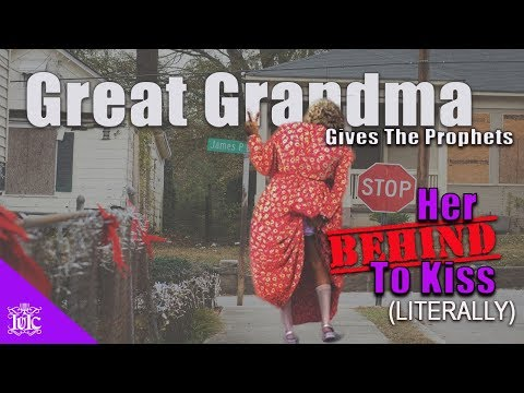 The Israelites: Christian Grandma Gives The Prophets Her Behind To Kiss!!!