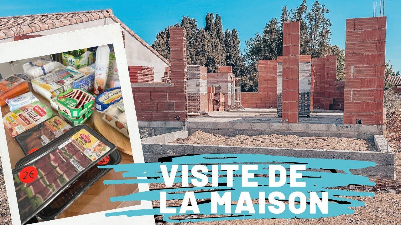 - VLOG ELOFAMILLE - VISITE DE LA MAISON ET COURSES