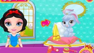 Игра для девочек Барби и красивого зайчика