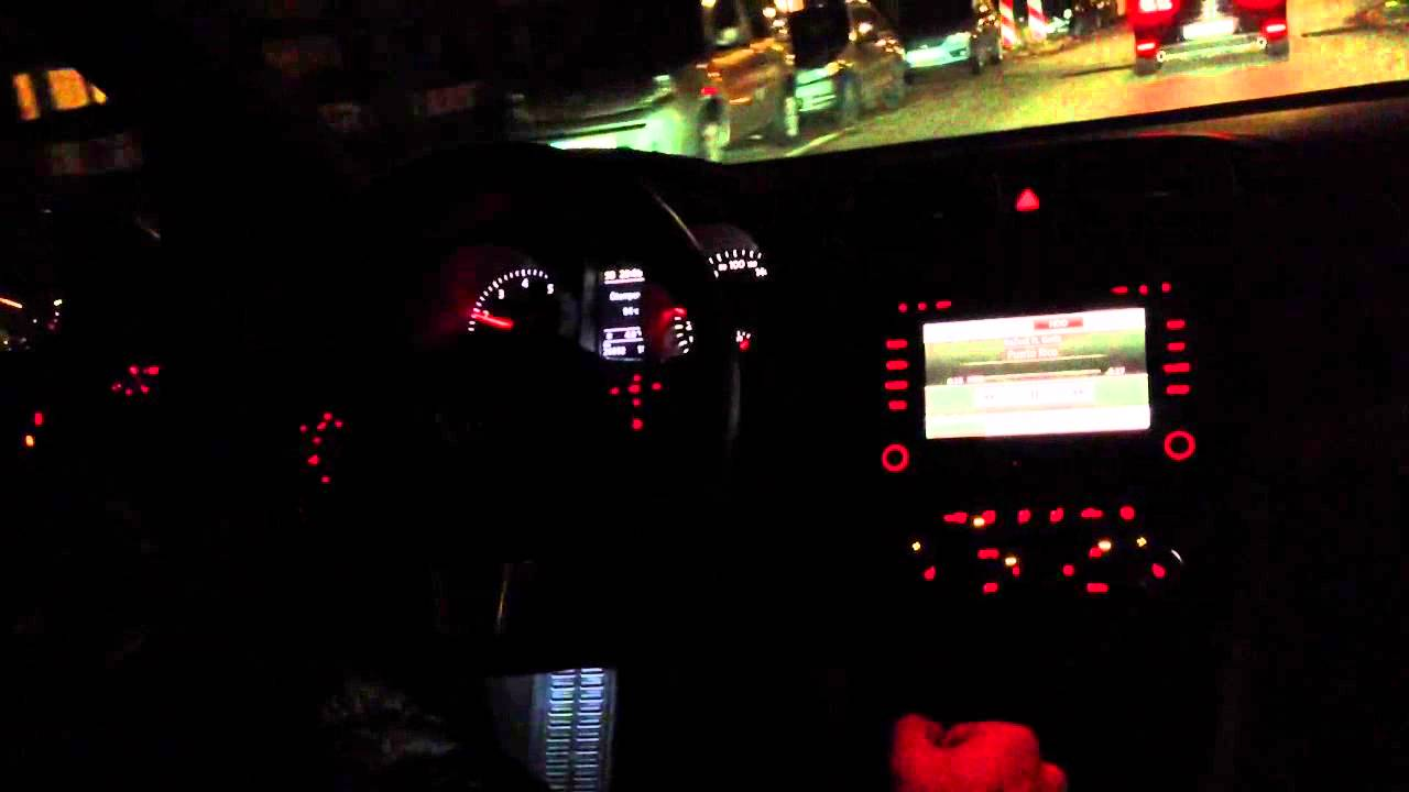Golf Vi 6 Gti At Night Youtube