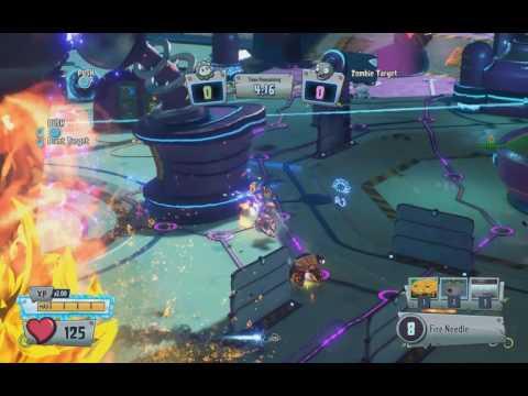 PvzGW2 - parkour locations: moon base mini game drone lift