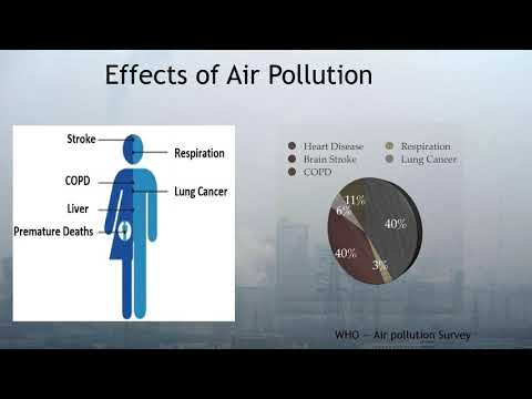 Air Pollution Causing Heart Disease