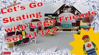 LEGO Friends Snow Resort Ice Rink Set 41322 Review!