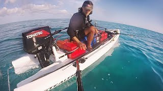 400km On A Micro Boat Almost Broke Me  - Fraser Island Marlin Part 1