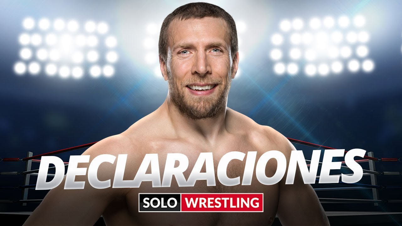 DANIEL BRYAN HABLA PARA SOLOWRESTLING - ¿RETIRO INMINENTE? ¿ROL ACTUAL EN WWE?