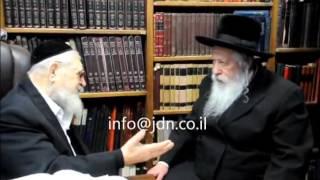 Gerer Rebbe Menachem Avel Rabbi Ovadia Yosef - Iyar 5773