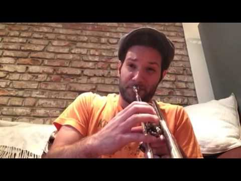 Soloing (trumpet) over Soulive's