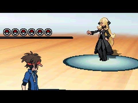 Final Battle vs Cynthia!! [Pokemon Black 2]