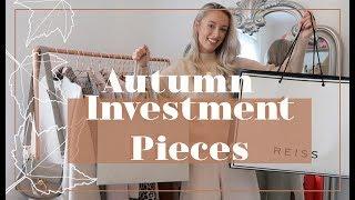 AUTUMN INVESTMENT PIECES // Premium Highstreet Haul // 🍂  #FashionMumblrAutumnEdit 🍂