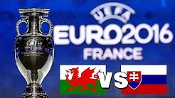 UEFA EM 2016: Wales vs. Slowakei