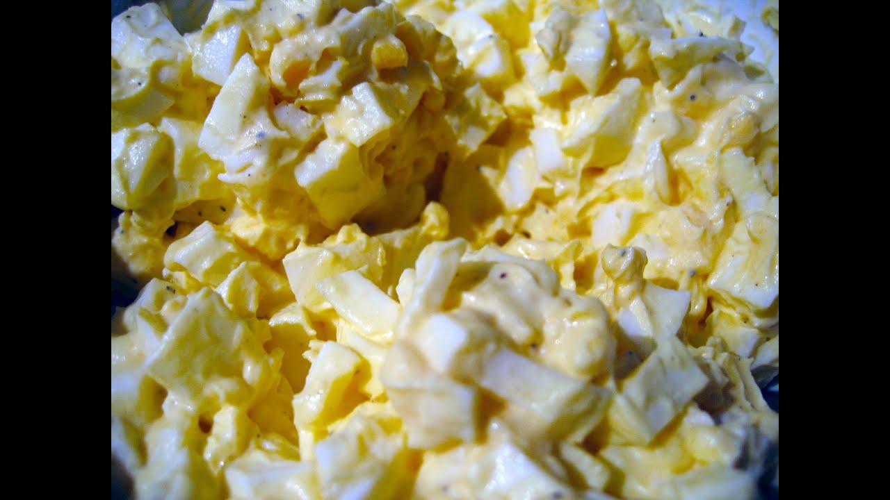 Easy Egg Salad Recipe Egg Salad In 2 Minutes Youtube