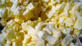 Easy Egg Salad Recipe - Egg Salad In 2 Minutes