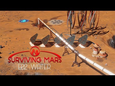 🐪 SURVIVING MARS Lets play ACTUAL GAMEPLAY  | Episode 2 Let´s waste some Materials