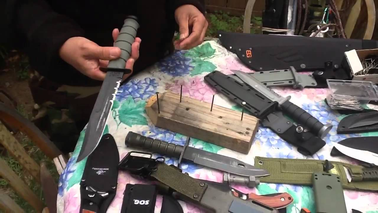 M9 BAYONET ( LANCAY ) Wire Cutter Test