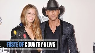 Tim McGraw's American Music Awards Date? His Daughter Maggie!