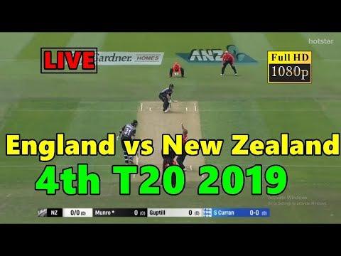 Live England Vs New Zealand 4th T20 2019 | Live England Vs New Zealand Streaming | Live Eng Vs Nz