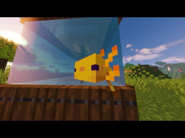 Minecraft AQUARIUM! 🐠 #shorts