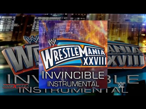 WWE: Invincible (WrestleMania 28 Instrumental Theme Song) by MGK