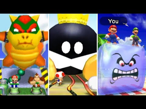 Evolution of 2-Vs-2 Minigames in Mario Party (1998-2017)
