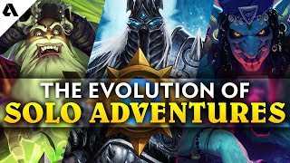 The Evolution of Solo Hearthstone Adventures