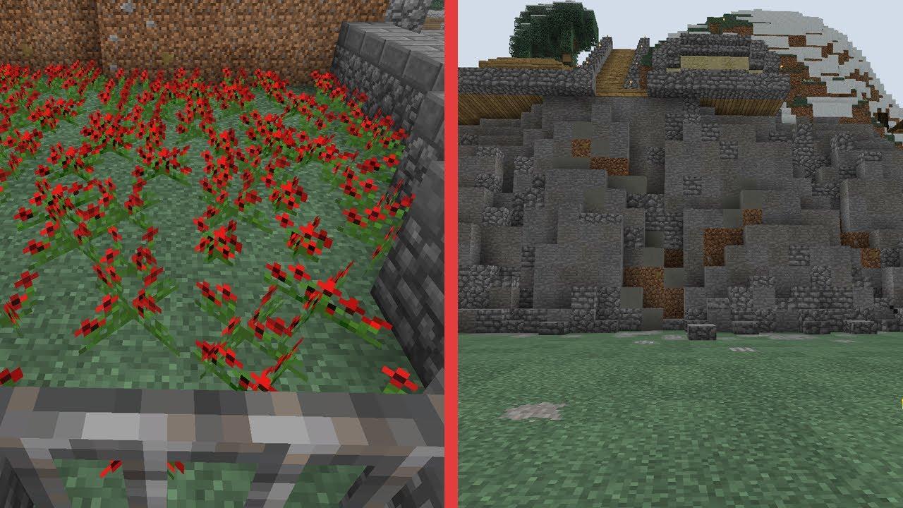 Minecraft building w bdoubleo poppy farm and an old cliff 457 minecraft building w bdoubleo poppy farm and an old cliff 457 sciox Image collections