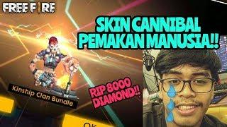 RIP 8000 DIAMOND BUAT SKIN RARE PEMAKAN MANUSIA!! | GARENA FREE FIRE