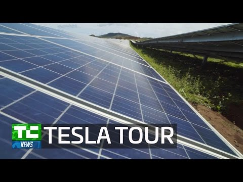 Tesla's new solar facility in Hawaii is the first of its kind