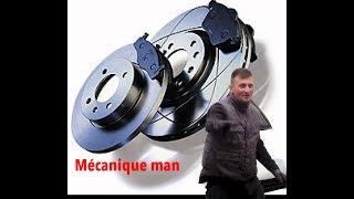 Comment changer  les disques et plaquettes de freins - Tutoriel Mécanique Man