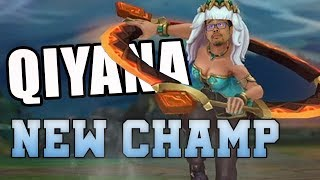 QIYANA TOP - GAMEPLAY FR PBE ( NOUVEAU CHAMPION LEAGUE OF LEGENDS)