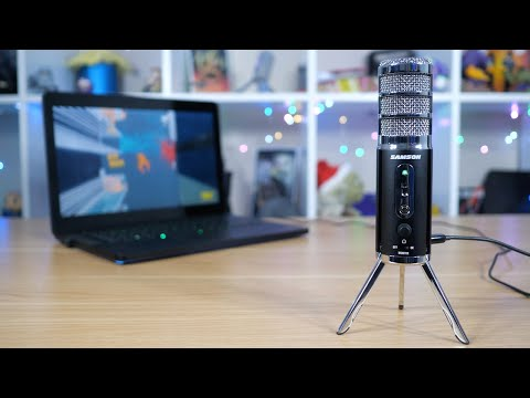 Samson Satellite USB/iOS Microphone Product Overview