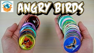 МОИ ФИШКИ ANGRY BIRDS. 10 ЖЕЛЕЗНЫХ. PLAY CAPS. КРУАССАНЫ ЧИПИКАО С КРЕМОМ. CHIPICAO  | СПЕЦЗАКАЗ