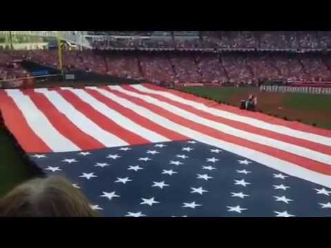 National Anthem at 2015 MLB All-Star Game