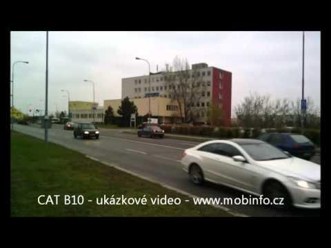 CAT B10 - ukázkové video - Mobinfo.cz