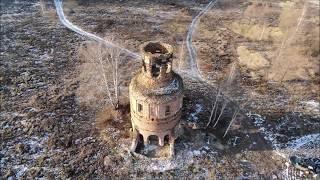 Колокольня на месте деревни Крутое, Тульская область #автопутешествия