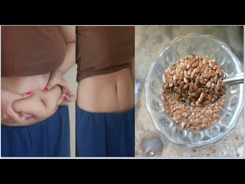 SLIMMING POWDER - Lose weight/Burn Belly Fat in 1 week - Flax Seeds For weight Loss