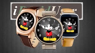 Циферблат Mickey Mouse (Watch face for Android Wear)