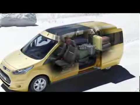 ford grand tourneo connect seat folding animation youtube. Black Bedroom Furniture Sets. Home Design Ideas