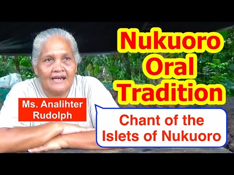 Chant of the Islets of Nukuoro