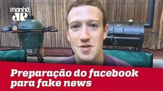 Zuckerberg diz que Facebook não está preparado para enfrentar