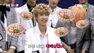 (ENG SUB) 150929 SEVENTEEN 5 Second Interview @ THE SHOW