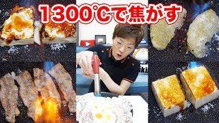 どんな食べ物も砂糖かけて1300℃で焦がせば美味しくなる説【セイキン & ポンちゃん】