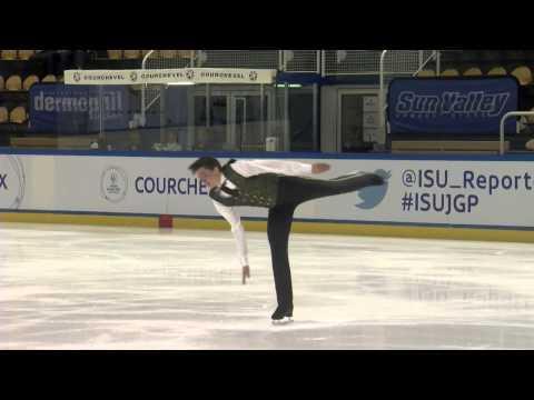ISU 2014 Jr Grand Prix Courchevel Mens Free Skate Daniel-Olivier BOULANGER-TROTTIER CAN