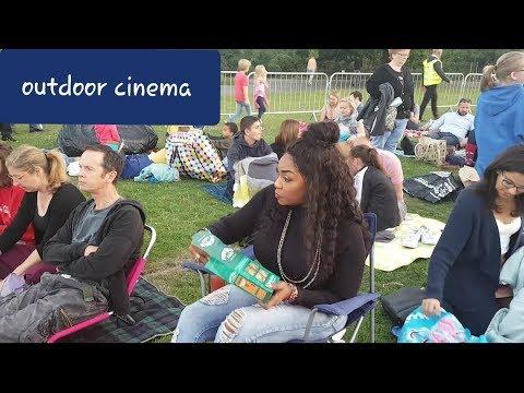Outdoor Open Air Cinema In London |Bylamitv