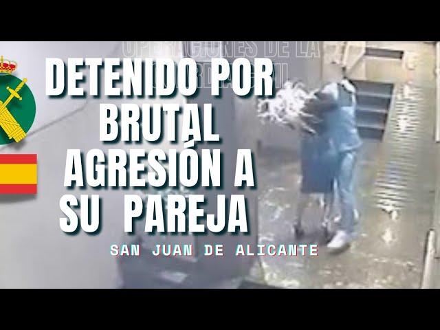Detenido un hombre por una brutal agresión a su pareja en San Juan de Alicante